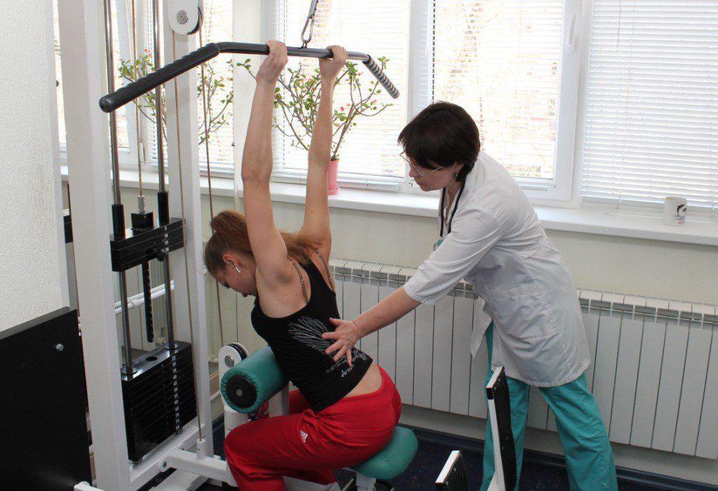 Тендинит надостной мышцы