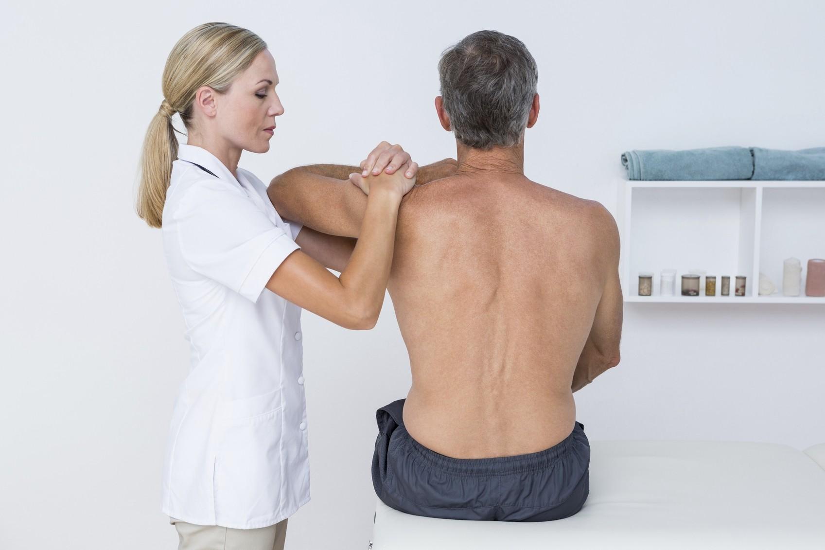 Травмы трехглавой мышцы