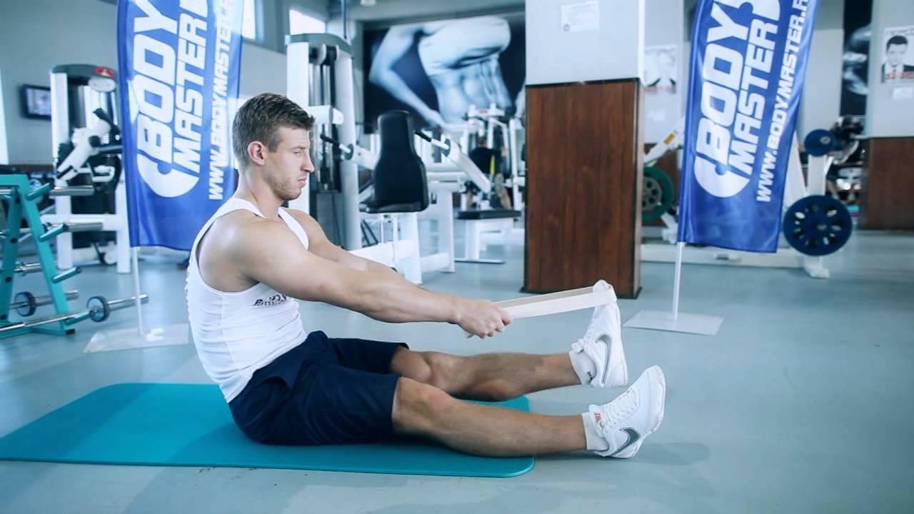 Разрыв икроножной мышцы