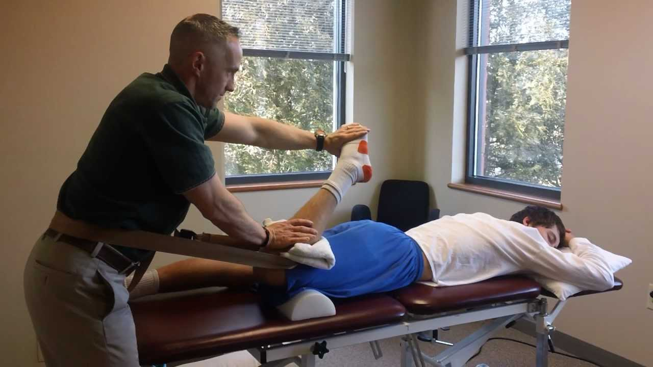 Разрыв камбаловидной мышцы