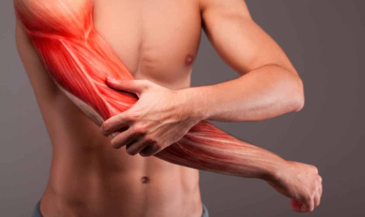 Разрыв двуглавой мышцы плеча