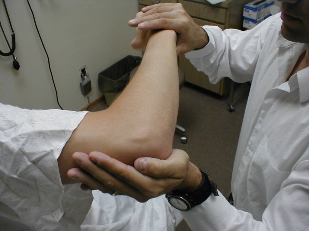 Повреждение локтевого нерва